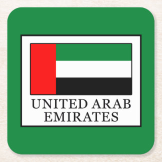Porta-copo De Papel Quadrado United Arab Emirates