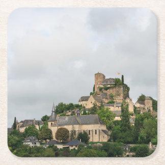 Porta-copo De Papel Quadrado Vila de Turenne em France