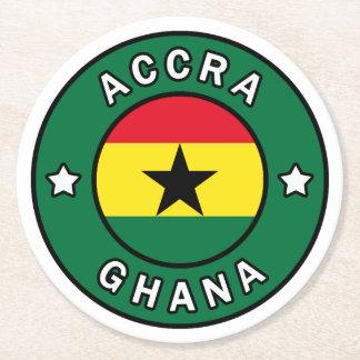 Porta-copo De Papel Redondo Accra Ghana