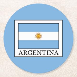 Porta-copo De Papel Redondo Argentina