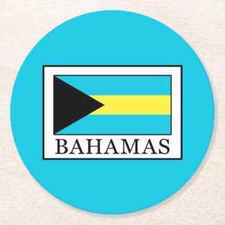 Porta-copo De Papel Redondo Bahamas