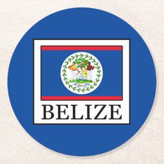 Porta-copo De Papel Redondo Belize