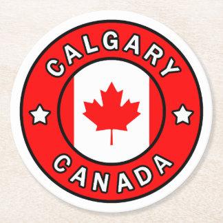 Porta-copo De Papel Redondo Calgary Canadá