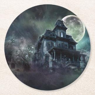 Porta-copo De Papel Redondo Casa assombrada