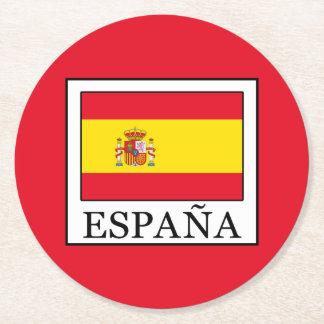 Porta-copo De Papel Redondo España
