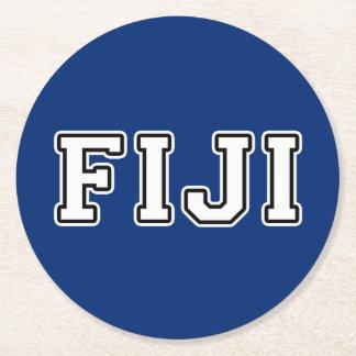 Porta-copo De Papel Redondo Fiji