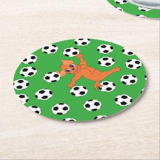 Porta-copo De Papel Redondo Futebol pelos Feliz Juul Empresa