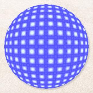 Porta-copo De Papel Redondo Globo quadrado do ponto