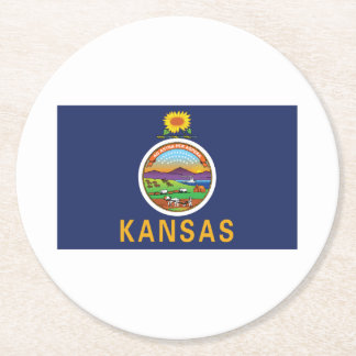 Porta-copo De Papel Redondo Kansas
