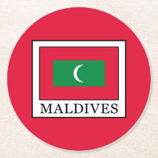 Porta-copo De Papel Redondo Maldives