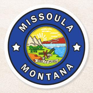 Porta-copo De Papel Redondo Missoula Montana