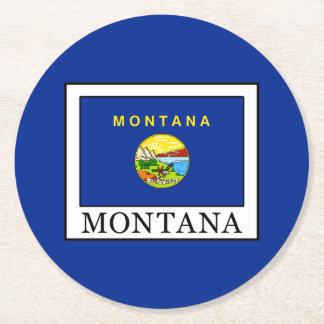 Porta-copo De Papel Redondo Montana