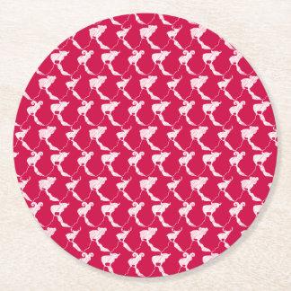 Porta-copo De Papel Redondo Montanha que sonha favores vermelhos & Bonboniere