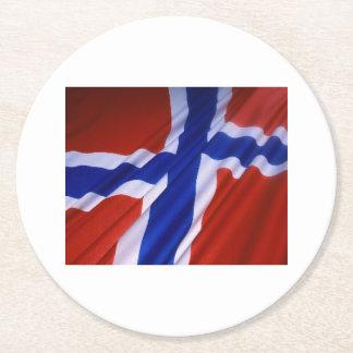 Porta-copo De Papel Redondo Noruega