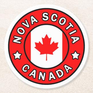 Porta-copo De Papel Redondo Nova Escócia Canadá