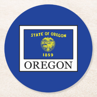 Porta-copo De Papel Redondo Oregon