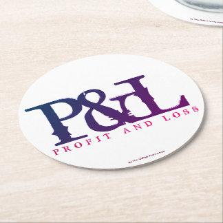 """PORTA-COPO DE PAPEL REDONDO """"P&L """""""