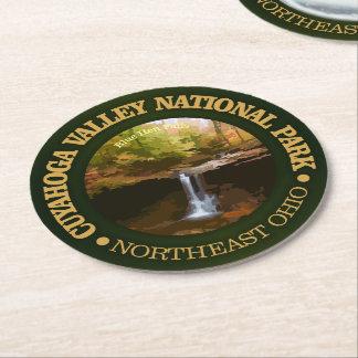 Porta-copo De Papel Redondo Parque nacional do vale de Cuyahoga