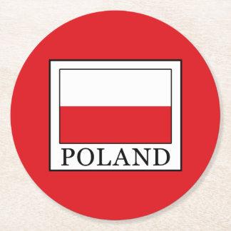 Porta-copo De Papel Redondo Polônia
