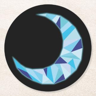 Porta-copo De Papel Redondo Porta copos da lua
