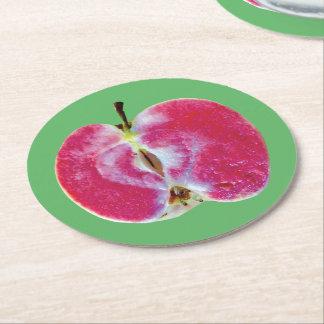 Porta-copo De Papel Redondo Porta copos de Apple
