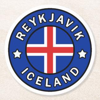 Porta-copo De Papel Redondo Reykjavik Islândia
