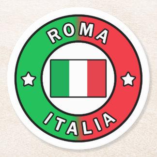 Porta-copo De Papel Redondo Roma Italia
