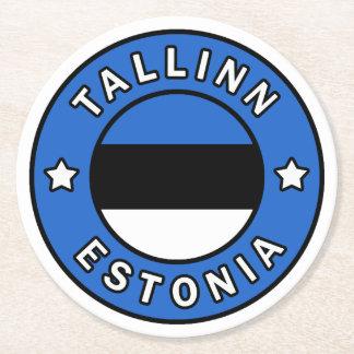 Porta-copo De Papel Redondo Tallinn Estónia