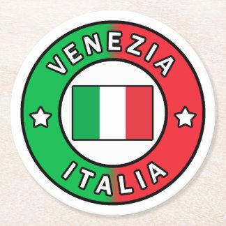 Porta-copo De Papel Redondo Venezia Italia
