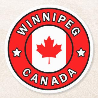 Porta-copo De Papel Redondo Winnipeg Canadá