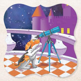 Porta-copo De Papel telescópio do cão