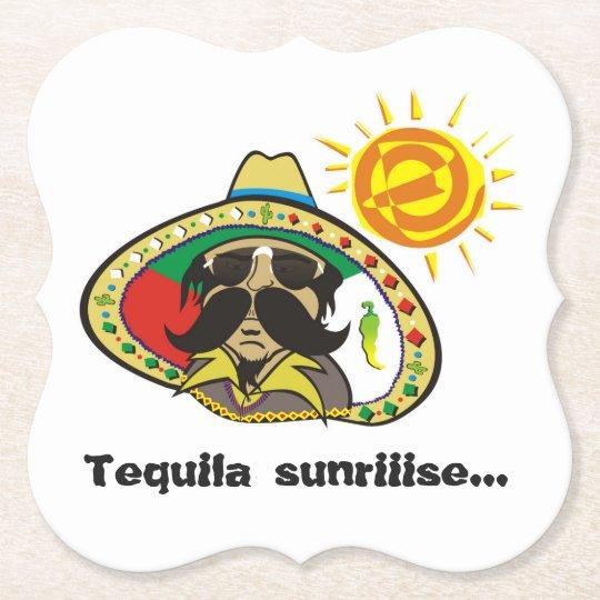 Porta-copo De Papel Tequila Sunriiise...