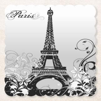 Porta-copo De Papel Torre Eiffel Paris (B/W) porta copos de papel