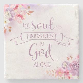 Porta-copo De Pedra A aguarela minha alma encontra o resto, 62:1 do