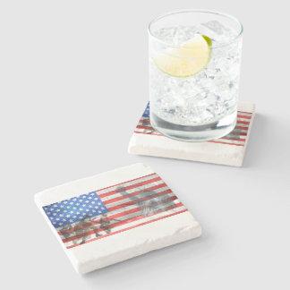 Porta-copo De Pedra A casa do escritório do patriota personaliza