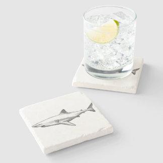 Porta-copo De Pedra A casa do escritório do tubarão personaliza
