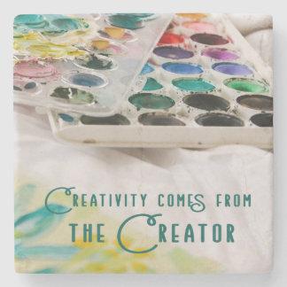 Porta-copo De Pedra A faculdade criadora vem do criador