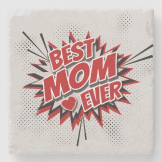 Porta-copo De Pedra A melhor mamã nunca