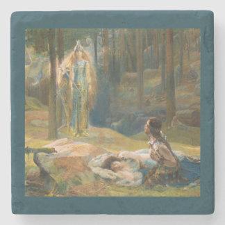 Porta-copo De Pedra A revelação Brunhilde