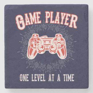 Porta-copo De Pedra Acessório da sala de jogo do jogador do jogo de