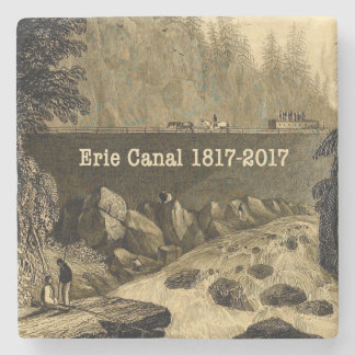 Porta-copo De Pedra Anos bicentenários históricos do canal de Erie
