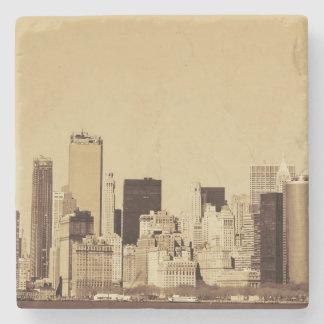 Porta-copo De Pedra Arquitectura da cidade de New York