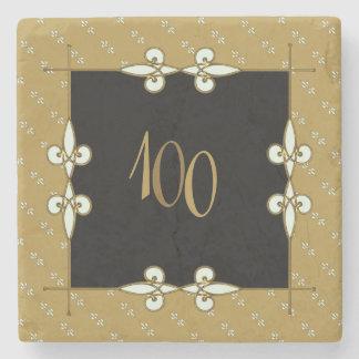 Porta-copo De Pedra Arte Nouveau 100 do Victorian do vintage+
