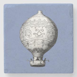 Porta-copo De Pedra Balão de ar quente do vintage de Montgolfier