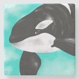 Porta-copo De Pedra Baleia bonito da orca