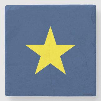 Porta-copo De Pedra Bandeira da república de Texas