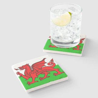 Porta-copo De Pedra Bandeira de Galês