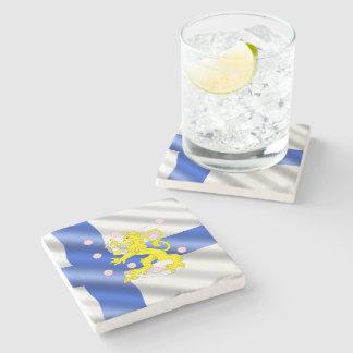 Porta-copo De Pedra Bandeira finlandesa