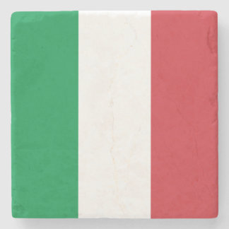 Porta-copo De Pedra Bandeira italiana patriótica