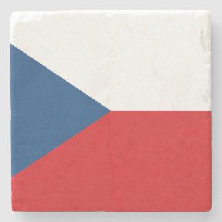 Porta-copo De Pedra Bandeira patriótica da república checa